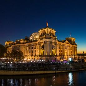 Lichtgrenze Berlin vom 7.- 9. November 2014 – 25 Jahre Mauerfall